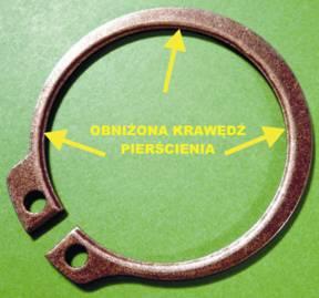 uautoklimatyzacje samochodowe ackesoria, pierścień zegera