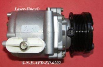 Klimatyzacja samochodowa, Kompresor sprężarka spiralna-scroll