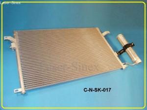 chłodnica klimatyzacji samochodowej daewoo numira, chevrolet lacetti