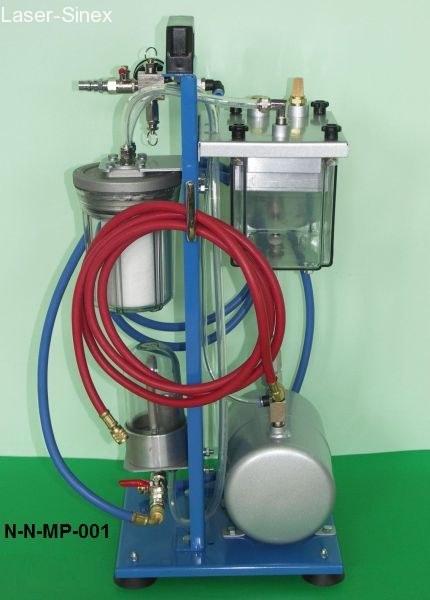 urządzenie do płukania układów klimatyzacji samochodowej