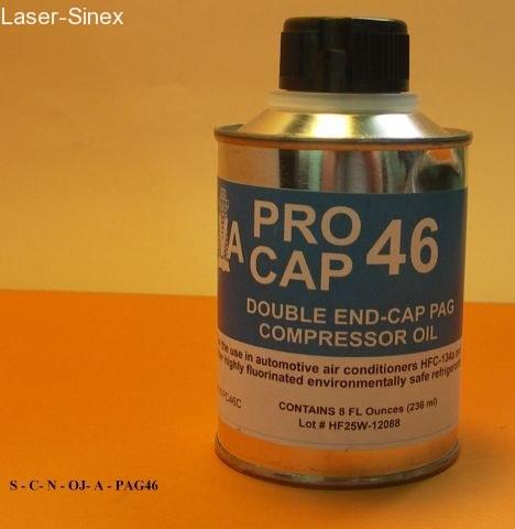 olej typu PAG46 do spręzarek klimatyzacji samochodowej