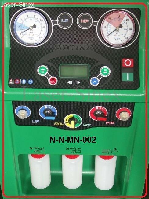 maszyna serwisowa do napełniania układów klimatyzacji samochodowej