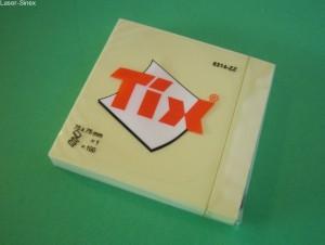 notesiki, karteczki samoprzylepne TIX, do robienia notatek