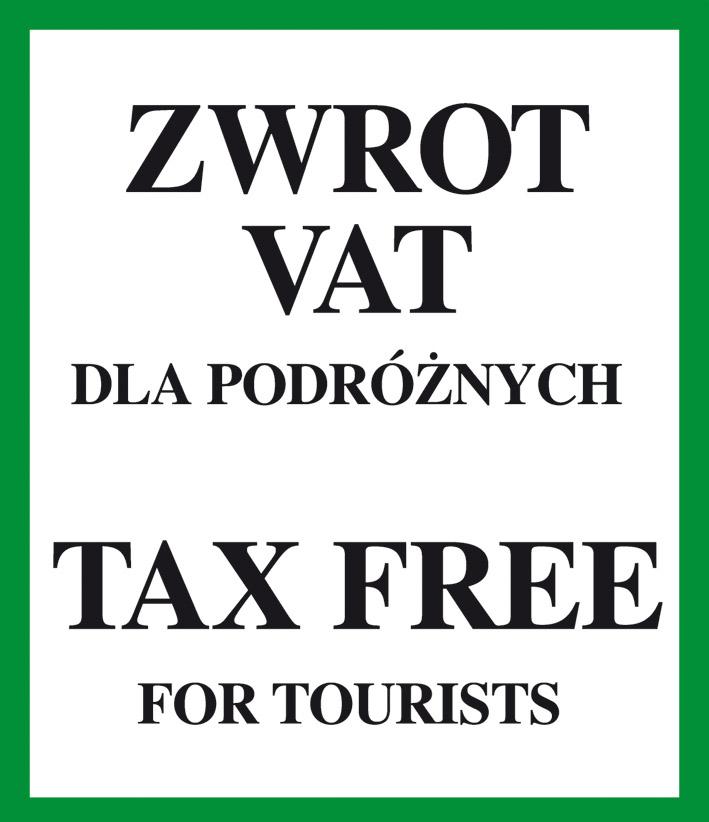 Zwrot podatku vat - tax free dla podróżnych